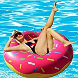 Best Floaties For Kids - 51 inch Donut Pool Floats - Adorable Gigantic Review