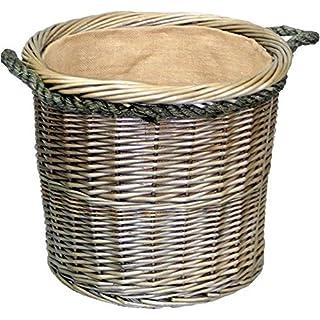 Wicker Warehouse Medium Antique Wash rund Seil behandelt Log Korb