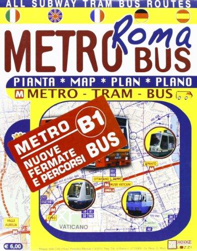Roma in metrobus. Pianta