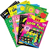 Stinky Stickers, Good Times, 535 Stickers, Multi, Sold as 1 Package