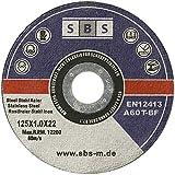 10 Stück SBS Trennscheiben 125 x 1,0mm INOX Flexscheibe - 3