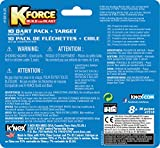 K'NEX K Force 10 Dart Pack and Target