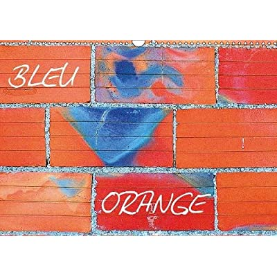 Bleu Orange 2019: Deux couleurs s'opposent dans une tempete intemporelle.