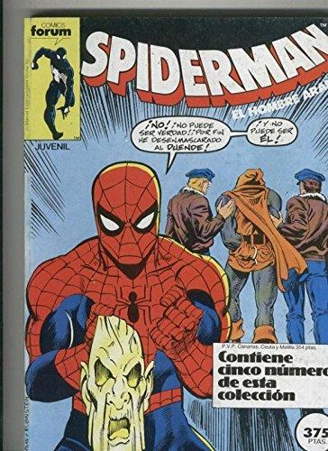 Spiderman volumen 1 retapado 141 al 145