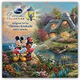 Thomas Kinkade: The Disney Dreams Collection - Sammlung der Disney-Träume 2018: Original BrownTrout-Kalender [Mehrsprachig] [Kalender] (Wall-Kalender) - BrownTrout Publisher