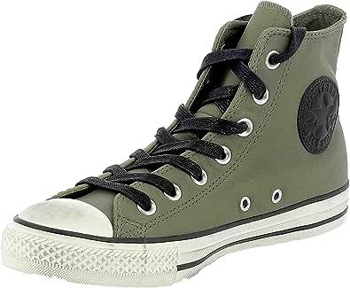 Converse Ctas Distressed Scarpe Sportive Verde Pelle 162795C