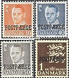 Dänemark PA31-PA34 (kompl.Ausg.) 1949 Paketmarken (Briefmarken für Sammler)