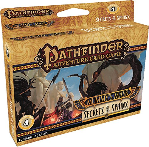 Pathfinder Mummy's Mask Adventure Deck: Secrets of the Sphinx