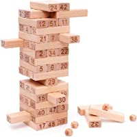 Webby Wooden Building Blocks Educational Game Toy 48 Pcs