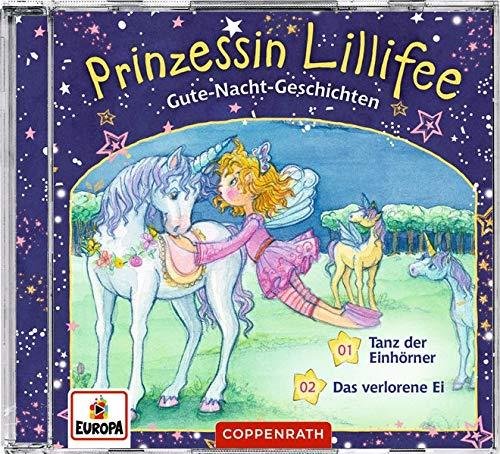 Gute-Nacht-Geschichten mit Prinzessin Lillifee (CD 2): Tanz der Einhörner & Das verlorene Ei