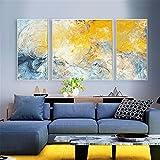 BINGAbitazione astratto Nordic pittura decorativo living camera tripla pittura moderna semplice atmosferica murales divano sfondo pittura