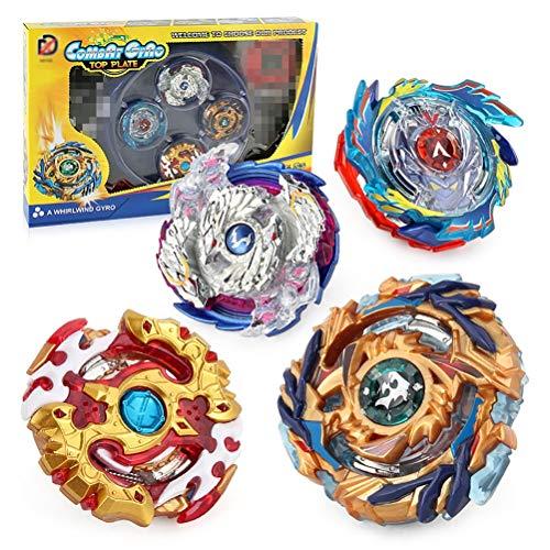 YRE Blow Battle Gyro ziehen Griff Battle Platte Arena Set, Spin frei Montage Gyro Spielzeug, Urlaub Geschenke