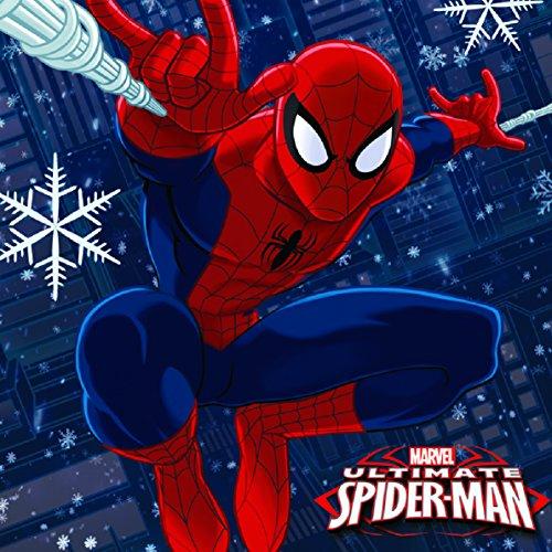 Spiderman Christmas Card Box Set 24 Pieces