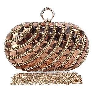 9d932dcb4c Chichitop Women s Luxurious Crystal Rhinestone Evening Clutch Purse Party  Handbag