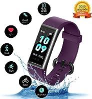 KUNGIX Orologio Fitness Tracker, Smartwatch Activity Tracker Uomo Donna Cardiofrequenzimetro da, Polso Pressione Sanguigna Im