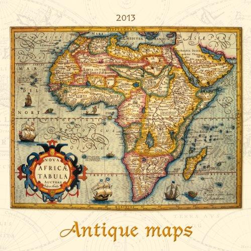 Antique Maps, Bildkalender 2013