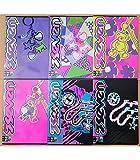 5 Maxi A4 quaderni 1RIGO SEVEN GIRL 501001712/1R 1RIGO elementari medie superiori fogli 100gr extra strong confezione 5 quaderni maxi fantasia assortiti 21x29,7cm copertina 250gr MAX quantità