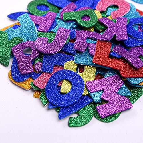 Glitter Stickers Sticker Adhesive Assorted