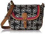 #10: Kanvas Katha Women's Sling Bag (Black) (KKSLJQ016)