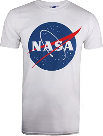 Nasa Circle Logo T-Shirt Uomo