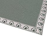 WOMETO Tischdecke Landhaus grün ca. 100x100cm, moderner Landhaus-Stil, aus 100% Baumwolle, verziehrt mit Herzchen, Punkten, Karo-Muster