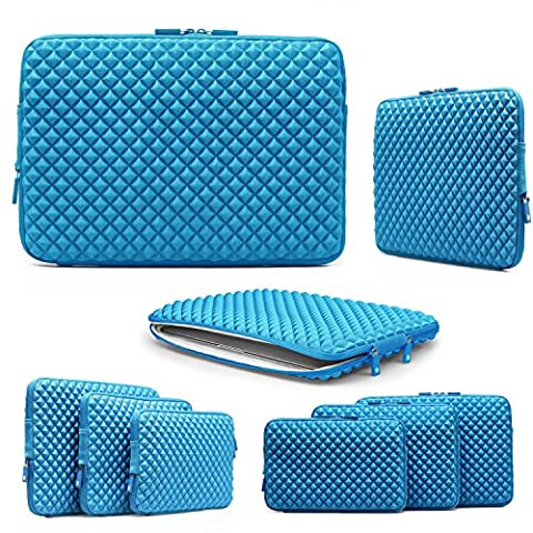 13 Inch Laptop Case, Urcover® Quilting Pattern Sleeve Notebook Case