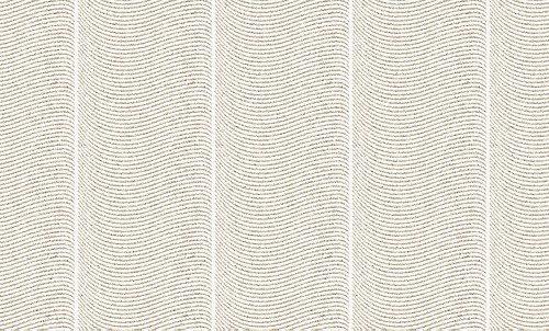 2 x (Rollen) 952951 Vlies (überstreichbar mit Streu) - TAPETE Weiß/Überstreichbar 9529-51 AS-Creation