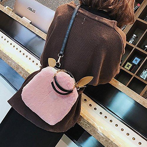 Goodtimes28 , Damen Rucksackhandtasche, rose (Pink) - OVUOUE799O01110957F2JK rose