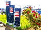 Set Gartenzaun, Schweißgitterzaun, Zaunset, Zaunpfosten, Maschendrahtzaun, Gitterzaun, Maschung 100x50x2.2mm (50 Meter Länge x 1.0m Höhe)