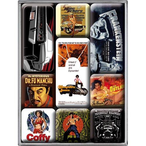 Nostalgic-Art 83014 Movie-Art - Style, Magnet-Set (9teilig)
