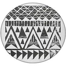 Sketch Azteca redondo Mandala tapiz, Hippie Hippy estilo, manta cama colcha, gitana colgar en la pared, indio Boho Gypsy algodón mantel toalla de playa, tapiz de pared colgante, alfombra de Yoga Meditación redonda, multicolor, 50 Inches