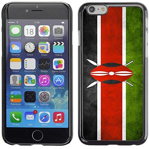 Graphic4You Vintage Uralt Flagge Von Äthiopien Äthiopier Design Harte Hülle Case Tasche Schutzhülle für Apple iPhone 6 Plus / 6S Plus Kenia