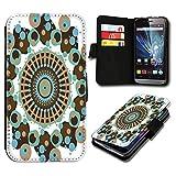 Book Style HTC Desire 310 Premium PU-Leder Tasche Flip Brieftasche Handy Hülle mit Kartenfächer für HTC Desire 310 - Design Flip SV100