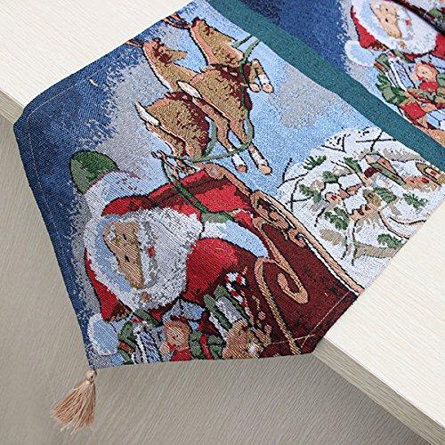 aliciashouse-decoracion-de-navidad-santa-claus-trineo-ciervos-mesa-mantel-mat