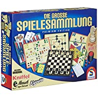 Schmidt-Spiele-49125-Die-groe-Spielesammlung Schmidt Spiele 49125 Die Große Spielesammlung, alle Spielfiguren aus Holz, bunt -