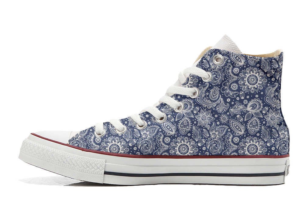 Converse Personalizados All Star Customized – Zapatos Personalizados (Producto Artesano) Arabesque