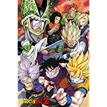 empireposter 715227Dragon Ball Z Cell Saga–Manga Anime poster stampa, dimensioni 61x 91,5cm, carta, multicolore, 91,5x 61x 0,14cm
