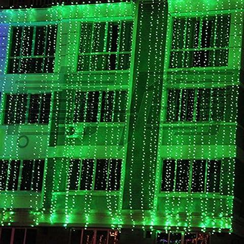 192 LED 8M x 0.5M interno / esterno del partito di Natale Natale leggiadramente della (Farfalla Strings)