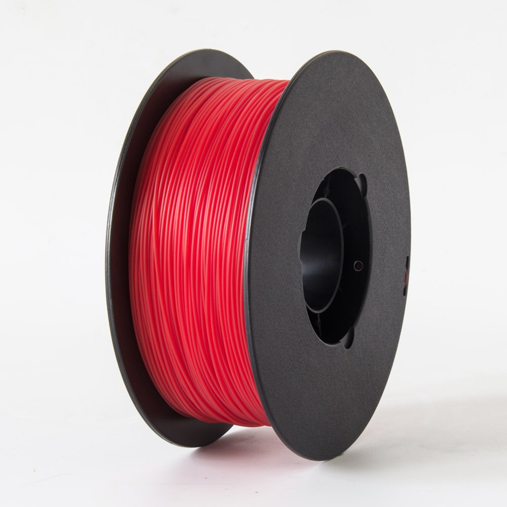 Flashforge PLA 3D Printing Filament 1.75mm 1KG/Roll for Creator Series (Red)