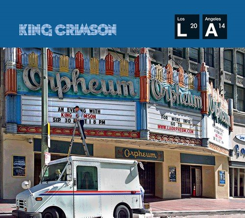 King Crimson: Live at the Orpheum (CD+DVD-Audio) (Audio CD)
