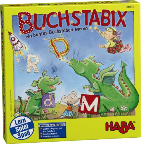 Haba 300143 - Buchstabix, Lernspiel