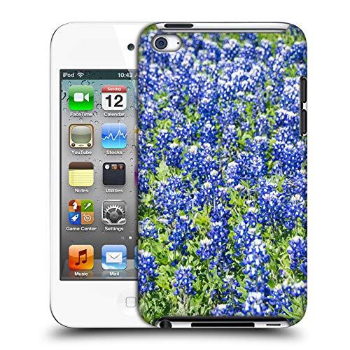 Offizielle Andrea Anderegg Blaue Wiesenlupine Gemischte Designs Harte Rueckseiten Huelle kompatibel mit Apple iPod Touch 4G 4th Gen