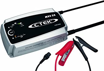 CTEK MXS 25 Mulit-F 8-Stage Battery Charger With Automatic Temperature Compensation, 12V 25 Amp
