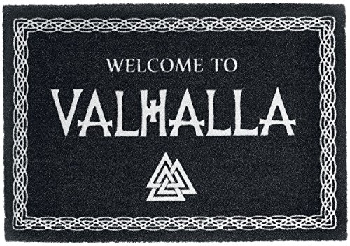 For-collectors-only Welcome to Valhalla Felpudo Vikingo