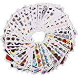zahuihuiM, 48 Mme Nail Art Stickers Nial outils ongles fille Halloween