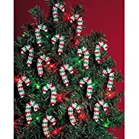 Beadery Holiday Beaded Ornament Kit, 2-Inch, Mini Candy Canes, Makes 24 Ornaments by Beadery