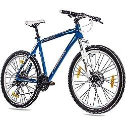 '26pulgadas MTB Mountain Bike CHRISSON Cutter 1.0aluminio con 24g acera Azul Mate, color , tamaño 53 cm (Sw 73), tamaño de rueda 26.00 inches