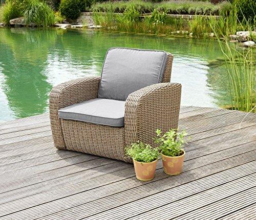 Greemotion Lounge Chair New York Rattan Armchair Wicker