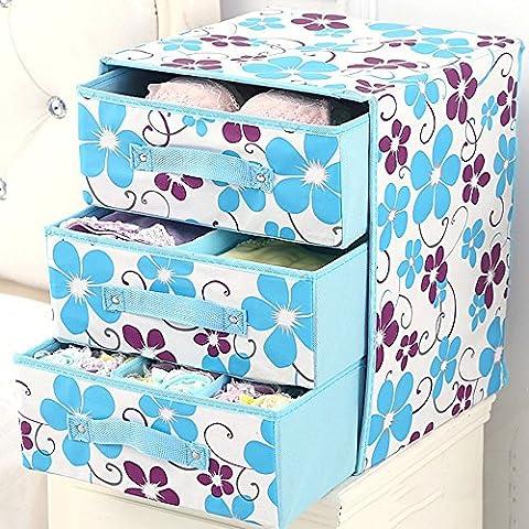 Panno Storage Box / coperto Folding Storage Box / Large Storage Box / calzini biancheria intima Box di stoccaggio (13 colori facoltativi) ( colore : 8# )