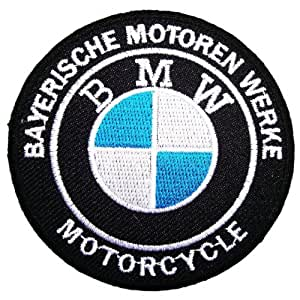 Ecusson brode Bmw patches Motorcycle biker patches Logo sew/iron on patch bmw02